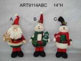 """11 """" H Santa e sacchetto della caramella del pupazzo di neve, regalo di Asst-Natale 2"""