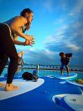 Доска йоги затвора стежком падения раздувная раговорного жанра