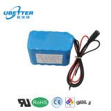18650 перезаряжаемые батарея иона лития 12V 6ah для электрического инструмента