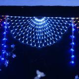 ホーム装飾的なLEDの祝祭の通りのカーテンライト