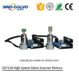 Laser-Markierunggalvo-Scanner der 10mm Blendenöffnungs-Sg7110 mit Galvo-Motoren