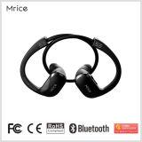 Porpularの無線ヘッドセットのスポーツのマイクロフォンのヘッドホーン、Bluetoothの黒い防水イヤホーン
