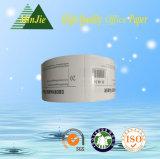 Étiquettes adhésives estampées thermiques personnalisées de collant