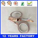 厚さ0.085mmテープを保護する伝導性の銅ホイルテープEMI/Rfi