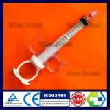 Siringa a gettare medica di controllo di pressione con la serratura maschio girante di Luer
