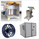 Puder-Beschichtung-Anwendungs-Stand und Ofen-Gerät