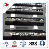 Api 5L gr. une ligne pipe d'acier du carbone de gr. B X42 X46 X52 X56 X60 X65 X70