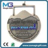 La qualità di Hight progetta la medaglia per il cliente in lega di zinco della stazione di finitura di sport