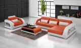 Sofá de sala de estar contemporâneo com sofá secional mais cadeira única