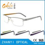 Bunter leichter Voll-Rahmen optische Glas-Rahmen-Titanbrille Eyewear (9106-EW)