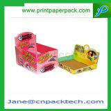 ディスプレイ・ケースを包むカスタム堅いボール紙のアートペーパーのFoldableパッキング商品