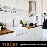 새로운 형식 디자인 백색 목제 부엌 찬장 관례 Tivo-0099h