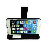 Caixa de couro do telefone do plutônio da aleta para a caixa do telefone do caso do iPhone 7