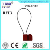Selo plástico do fio da injeção RFID da microplaqueta da segurança da manufatura da fábrica do selo de China