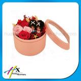 El regalo redondo de la cartulina de encargo de lujo florece el rectángulo de empaquetado de papel