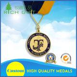 metal 2D/3D feito sob encomenda/funcionamento/esportes/ouro/maratona/medalha da concessão/lembrança