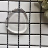 Esponja de maquillaje transparente de silicona