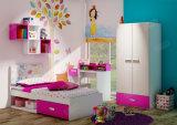 Hölzernes Kind-Bett, Kind-Schlafzimmer scherzt Möbel (Blume)