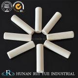 Tubo di ceramica 95% 99% Al2O3 dell'ossido di alluminio per le alte applicazioni di refrattarietà