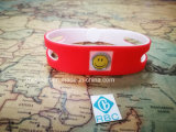 Vente des puces faites sur commande imperméables à l'eau d'identification de bracelet de bracelets de silicones d'IDENTIFICATION RF