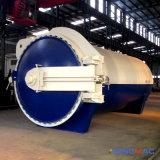 vulcanizador de goma certificado ASME de la calefacción eléctrica de 1500X3000m m (SN-LHGR15)
