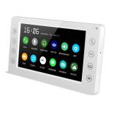 Memoria Doorphone 7 pollici di obbligazione domestica di video telefono del portello del citofono