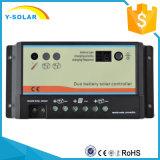 Het ZonneControlemechanisme 12V/24V van Epever 10A/20A met duo-Batterij voor rv dB-10A