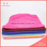 Essuie-main de tricotage de chaîne faite sur commande de Microfiber de fabrication