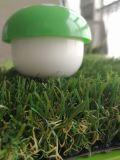 4 색깔 32mm 고밀도 진한 녹색 합성 뗏장 인공적인 잔디