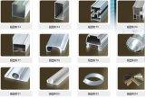 6061 6063 Perfis de alumínio da série 6000 Perfis de extrusão de alumínio Perfis de liga de alumínio