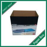 Contenitore ondulato di scatola di trasporto delle 7 pieghe per l'imballaggio delle coperte