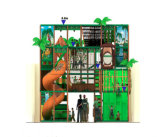 Equipamento interno temático da aptidão do campo de jogos da selva