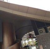 Plafond linéaire de cloison en métal de qualité supérieur pour l'usage extérieur