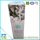 Boîte de conditionnement de vin en carton en papier imprimé personnalisé