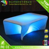 贅沢で明るい回転鋳造物LED棒家具セット