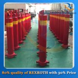 Cylindre hydraulique télescopique d'étape du cylindre hydraulique 3/4/5 de camion à benne basculante