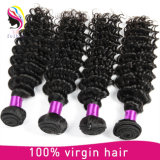 100% Remy Extensão do Cabelo Humano, Natural Virgin Brazilian Hair