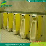 HPL 40X90cm Durable Urninal Partition Board voor Toilet Cubicle