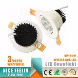 Epistar LED 5W COB Downlight/Spotlight/Ceiling Light with 3years Warranty