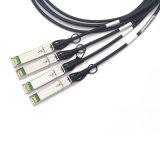 40GB/S Qsfp+ к Passive кабеля проламывания 4X SFP+ Dac для Cisco Qsfp-4SFP10g-Cu3m