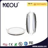 Keouの軽い卸売12W 15W LEDのパネルRa>80 AC100-265V