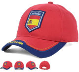 Pre Curve 6 Panels Embroidery Patch Front Football Équipement sportif casquette de baseball