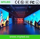 P3.91 de interior mueren la pared video/el acontecimiento Sho de la fundición de aluminio Cabint/LED