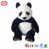 Le panda sérieux de Kongfu de face badine le jouet de peluche bourré par qualité de cadeau