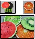 Caixa de armazenamento Foldable da tela redonda do projeto da fruta como a cadeira