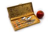 Populäres Edelstahl-Messer-Gabel-Löffel-Tafelgeschirr-Besteck-Tischbesteck-Set