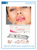 Заполнитель Hyaluronic кислоты Singfiller метки Ce Injectable для повышения губы
