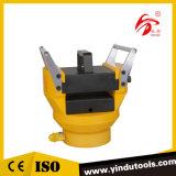 Máquina de prensa de estampación en barra de aluminio de cobre colector hidráulico (HYB-150)