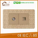 Moderne Platten-Schalter-Qualität der Typ- 1gruppe-1way