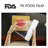Le PE de film d'enveloppe d'extension de roulis de film de qualité s'attachent film
